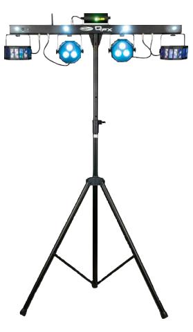 LED Lampen Lichtorgel mit Stativ