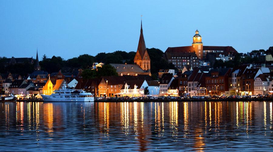 Flensburg vom Wasser